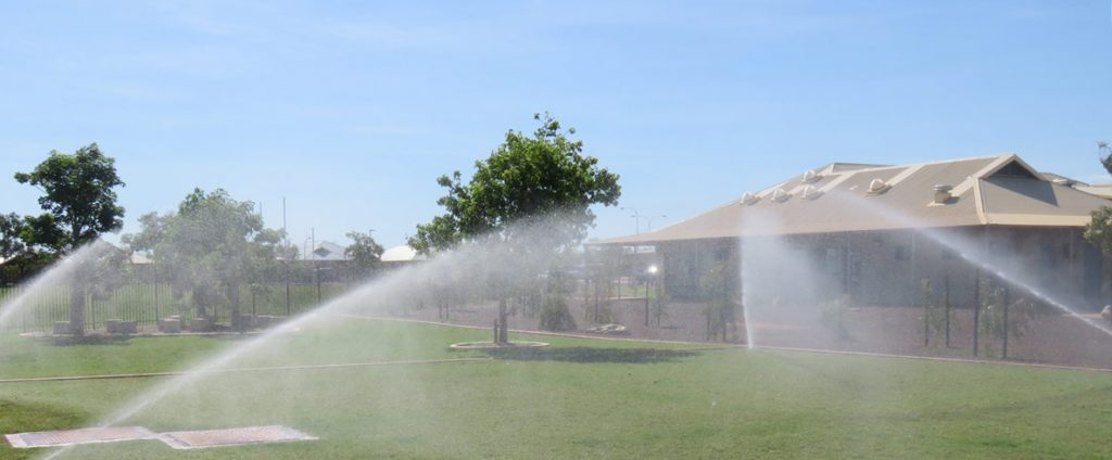 Broome North Primary School Sprinkler System Project