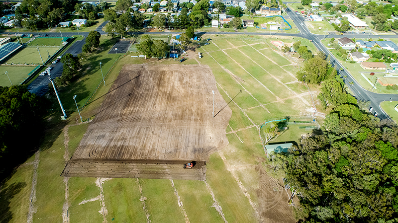 Ken Leeson Oval Redevelopment - Recycled Water and Irrigation