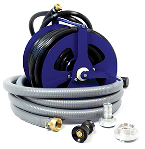 Fire Fighting Equipment - hose, reels and fittings